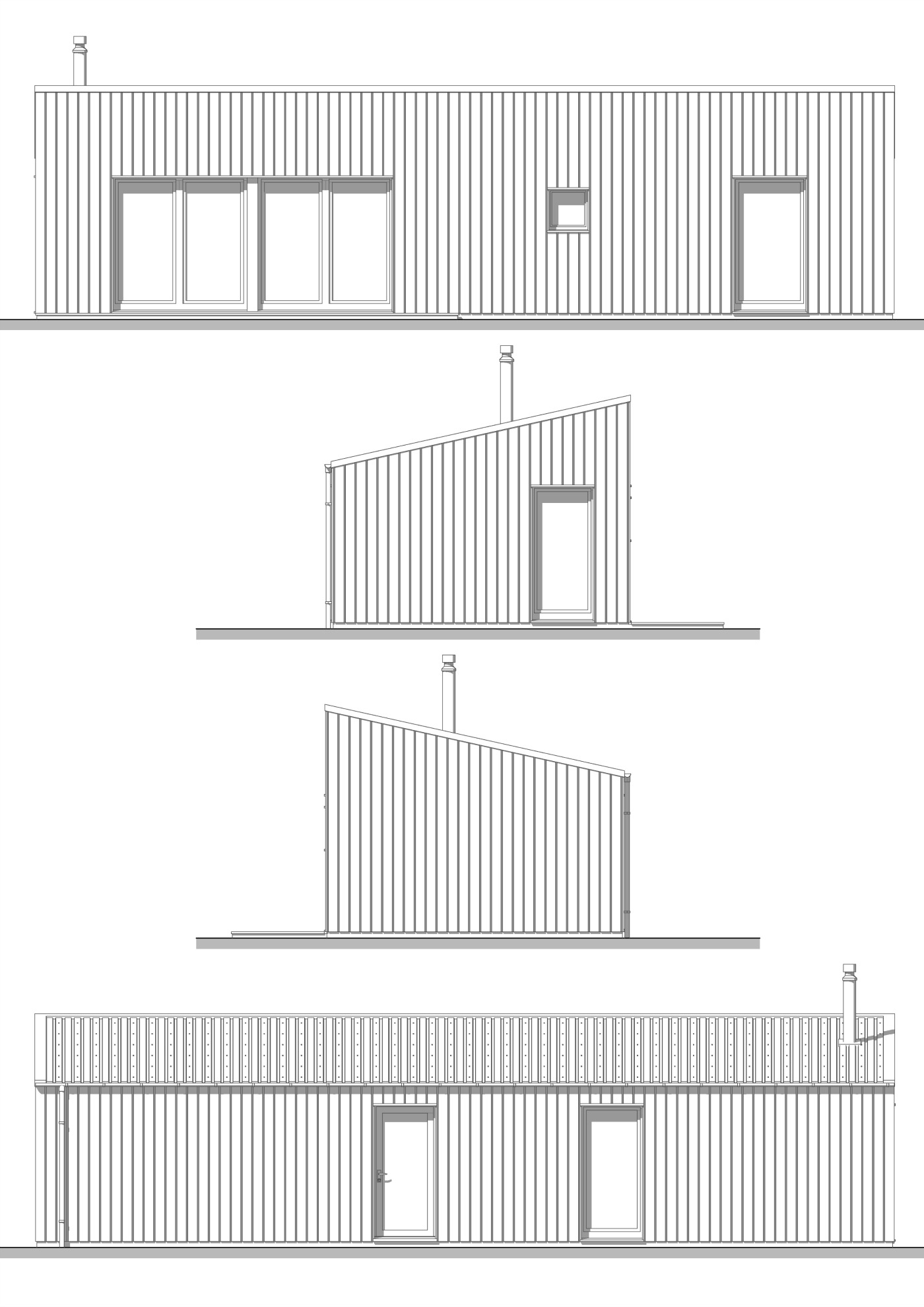 R.Bothy Mor Elevations