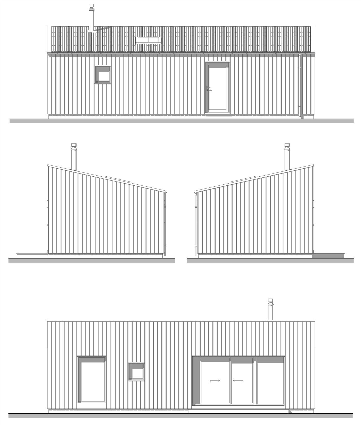 Bothy Elevations