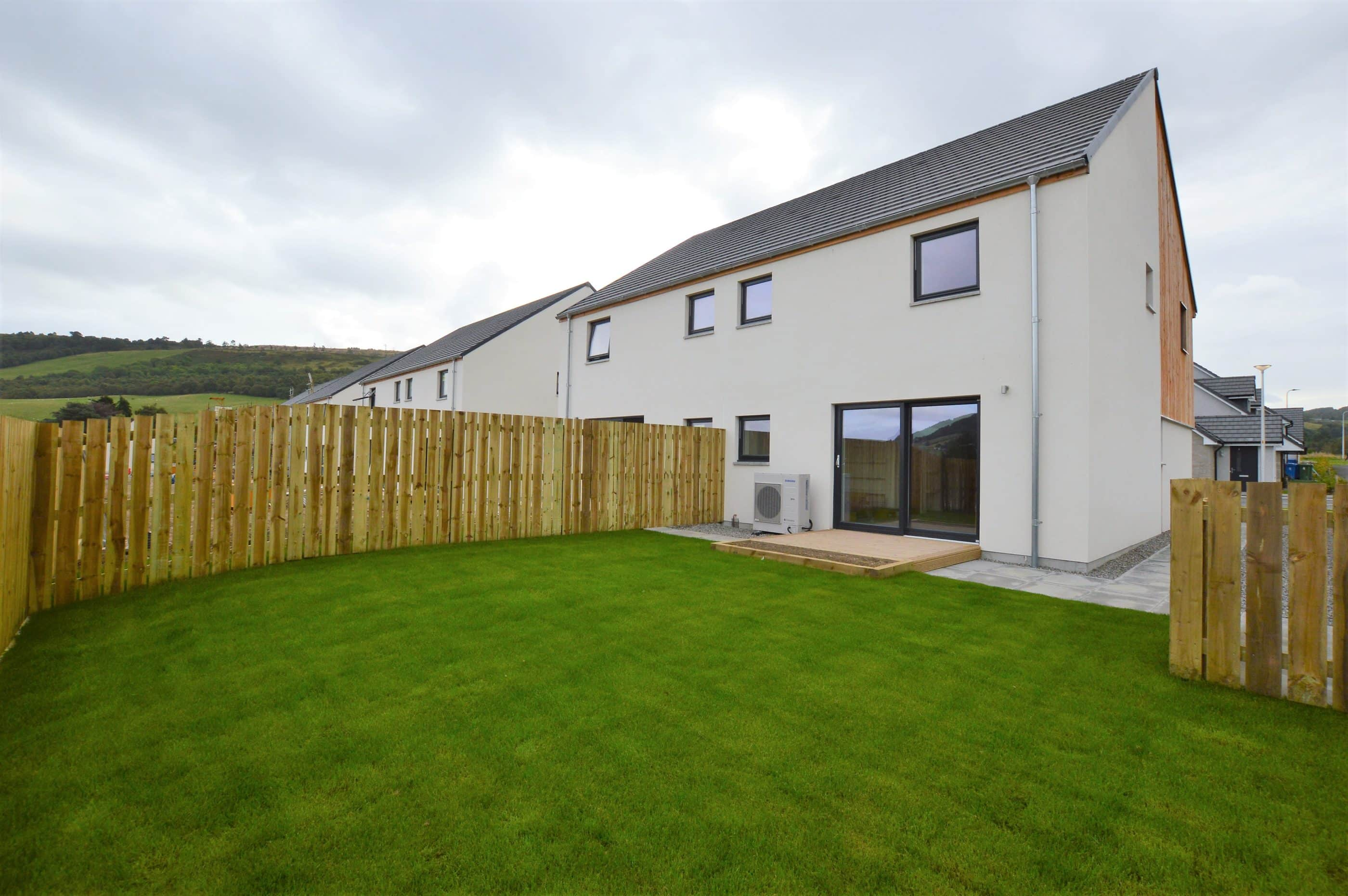 Semi detached property at Loch Ness Park