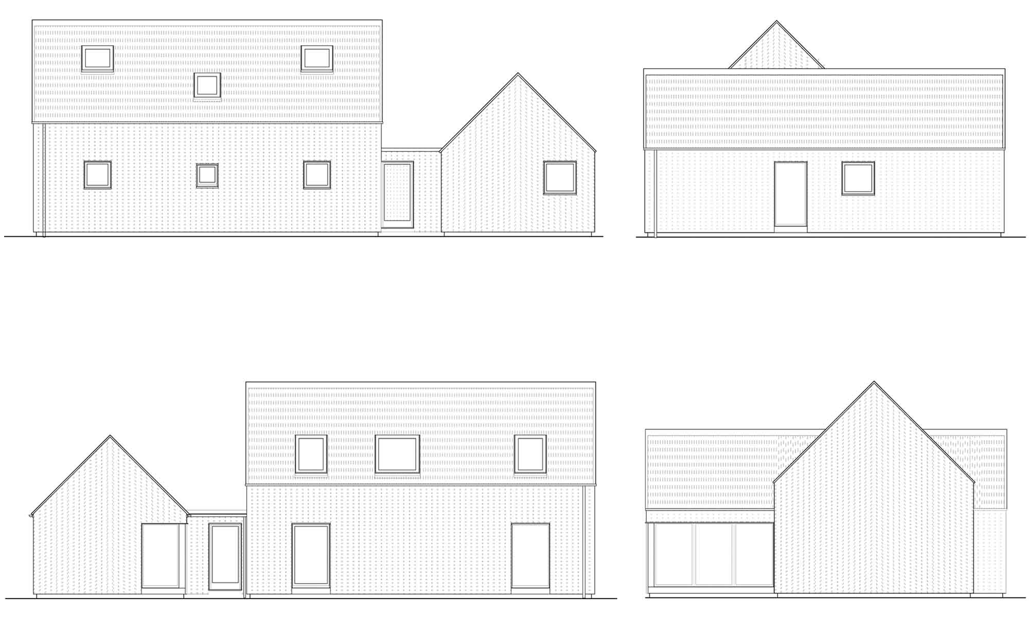R4 Elevations Rural House Designs