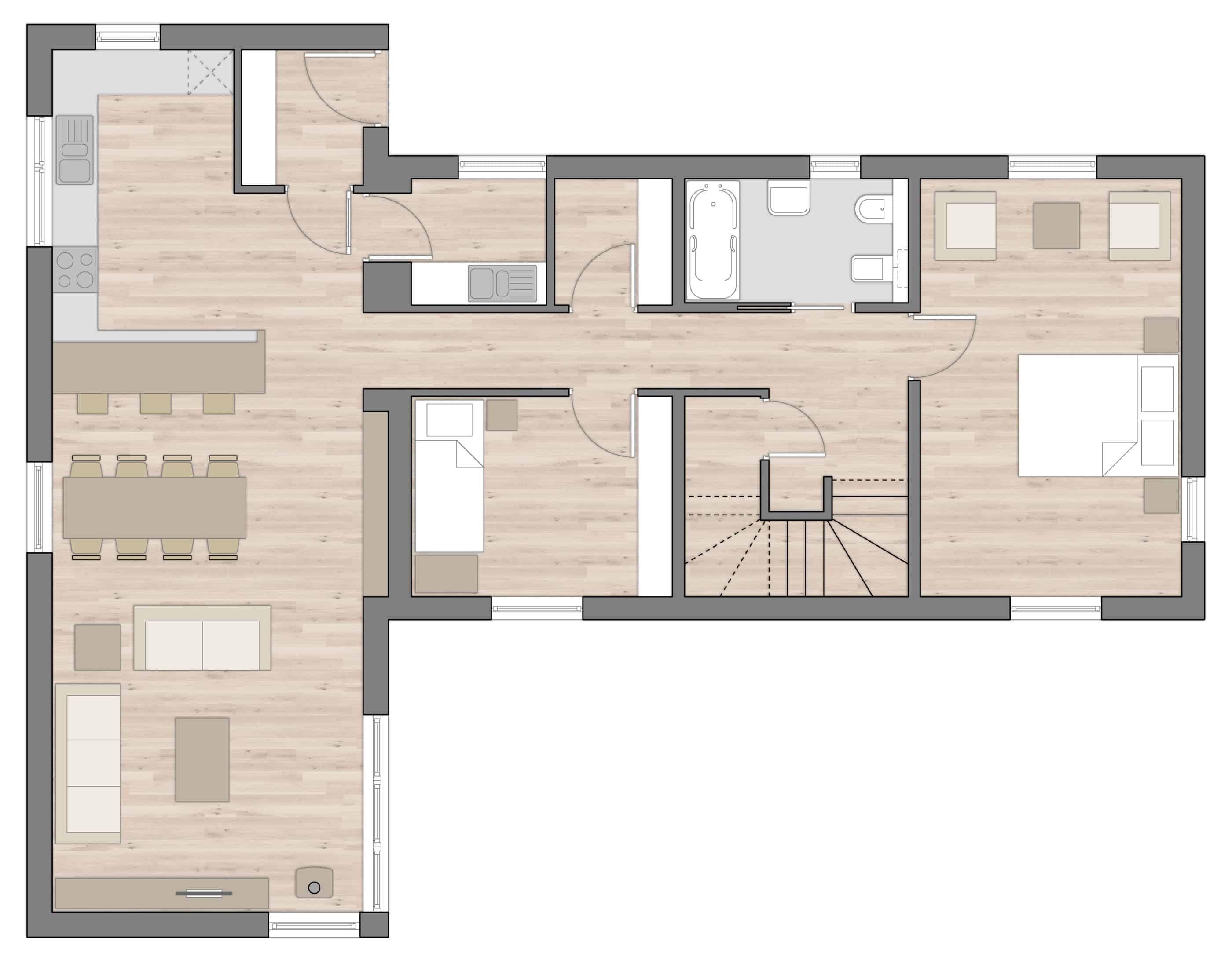 R4 Ground Floor Plans