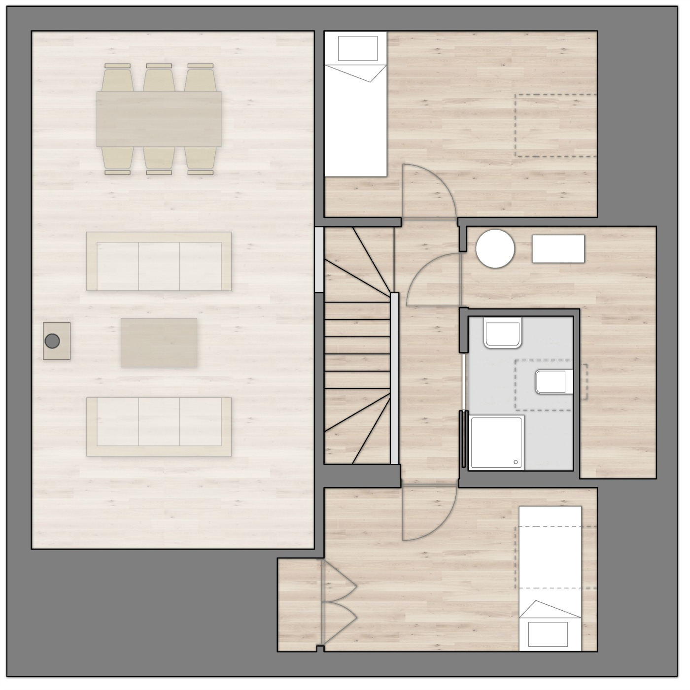 R.Island Home Floor Plan