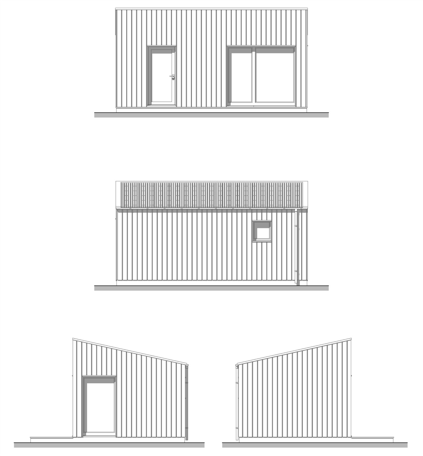 Bothy Beag Elevations